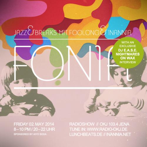 Fonia Session 23  – DJ E.A.S.E. (Nightmares On Wax)